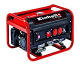 Einhell Stromerzeuger (Benzin) TC-PG 2500 (4 kW, Dauerleistung 2.100 W, max. 2.400 W, zwei 230 Volt-Anschlüsse, 15 L-Tank, Voltmeter, Überlastschalter, Ölmangelsicherung, AVR-Funktion,...