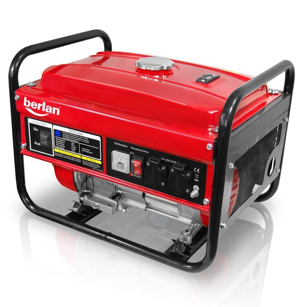 Berlan-Benzin-Stromerzeuger-BSTE3000-2800-Watt