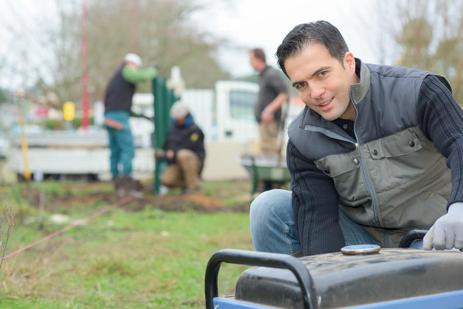 Mobile Stromerzeuger für den Garten