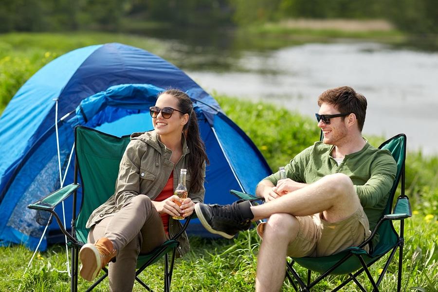 Stromgenerator für das Camping