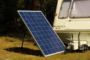 Mini Solaranlage für Camping oder Garten