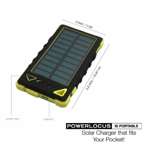 Handlich klein - powerlocus-solar-power-bank