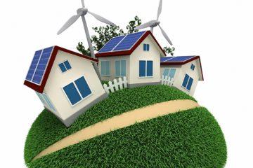 Windkraftanlage im Garten – Mini Windrad im Vorgarten