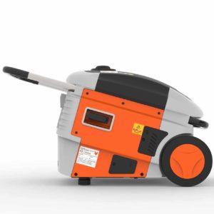 FUXTEC Inverter FX-IG13 Wechselrichter Benzin Stromerzeuger - Bild von der Seite