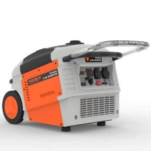 FUXTEC Inverter FX-IG13 Wechselrichter Benzin Stromerzeuger - Bild seitlich links hinten