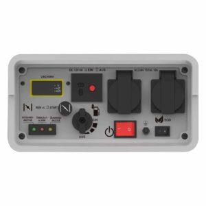 FUXTEC Inverter FX-IG13 Wechselrichter Benzin Stromerzeuger - Bild Bedienpanel