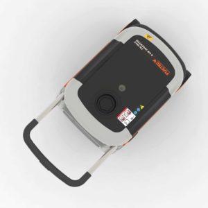 FUXTEC Inverter FX-IG13 Wechselrichter Benzin Stromerzeuger - Bild von oben