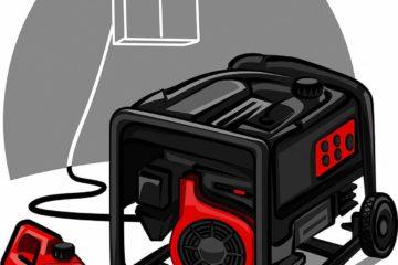 Benzinkanister für Notstromaggregate