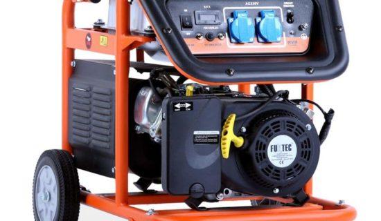 FUXTEC 5.5 KW Motor Benzin Stromerzeuger Stromaggregat Stromgenerator FX-SG3800